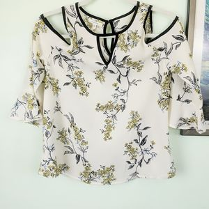 Maurices Cold Shoulder Blouse Size XS